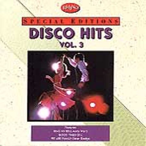 DISCO HITS cd vol. 3 RHINO RECORDS SPECIAL EDITIONS