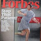 "FORBES MAGAZINE 03/10/2008 ""Stop That Patient"" issue"