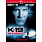 K-19: The Widowmaker dvd starring Harrison Ford