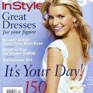 Weddings In Style Magazine-Jessica Simpson Cover 04/2003