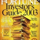 FORTUNE MAGAZINE 12/09/2003 Investor's Guide 2002 issue