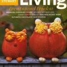 Martha Stewart Living Magazine-October 2003 issue