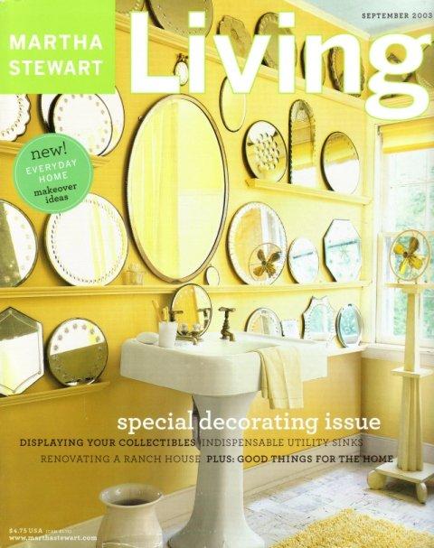 Martha Stewart Living Magazine-September 2003 issue