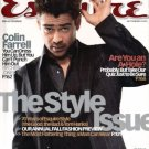 Esquire Magazine-Colin Farrell cover 09/2003 issue