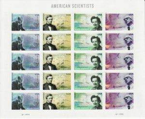 US stamps Mint Pane of 20(forever stamp) American Scientists