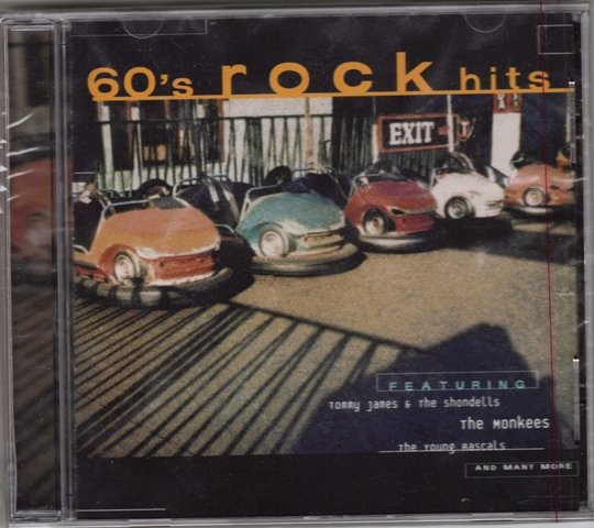 60's Rock Hits CD by Original Various Artists *Brand New*