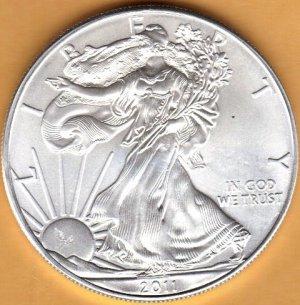 2011 American Eagle Silver Coin 1oz - Brand New