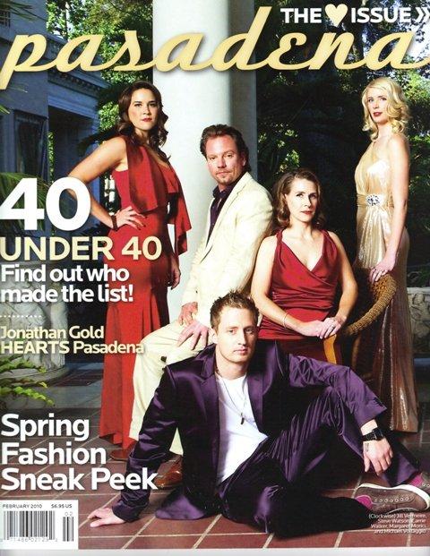 Pasadena Magazine - 40 Under 40 - February 2010 issue