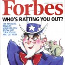 "FORBES MAGAZINE 12/14/2009""Who's Ratting You Out?"" issue"