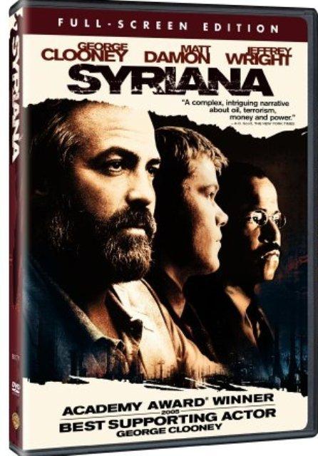 Syriana DvD starring George Clooney & Matt Damon