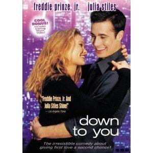 Down to You DvD starring Freddie Prinze Jr & Julia Stiles