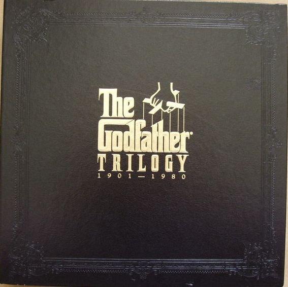 Godfather Trilogy 1901-1980 Box Set Laserdisc LD