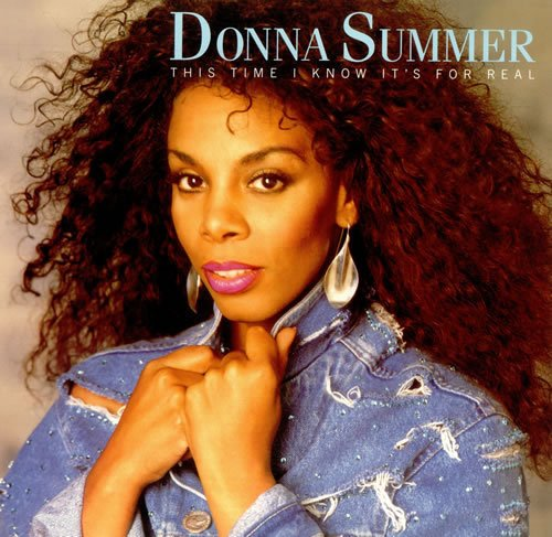 """Donna Summer This Time I Know It's For Real USA 12"""""""