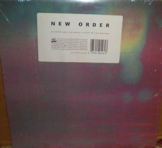 """New Order 12"""" Bizarre Love Triangle"""