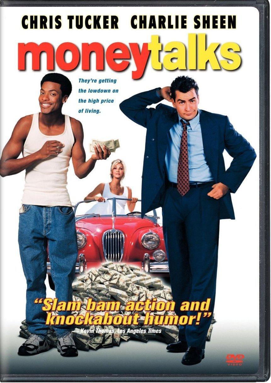 Money Talks DvD starring Charlie Sheen & Chris Tucker