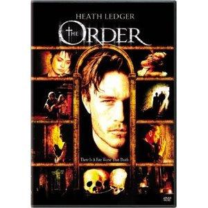 The Order DvD starring Heath Ledger