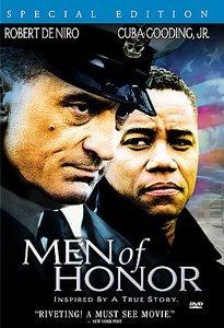 Men of Honor DvD starring Robert De Niro & Cuba Gooding Jr.