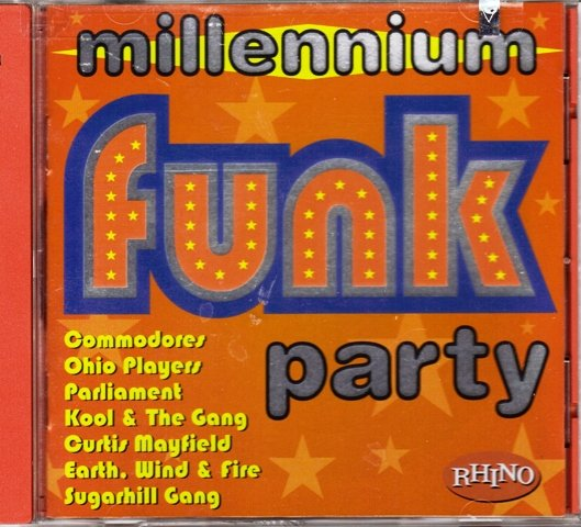 Millennium Party Funk Cd Jul 1998 Rhino
