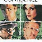 Confidence starring Edward Burns, Rachel Weisz DvD