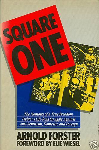Square One by Arnold Forster (1988, Hardcover)