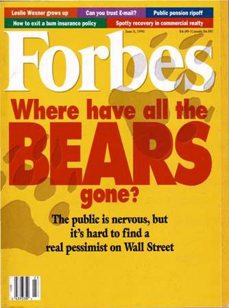 FORBES MAGAZINE-Where have all the Bears gone? 06/05/95