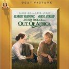 OUT OF AFRICA DvD starring Robert Redford & Meryl Streep