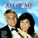 All Of Me DvD starring Steve Martin and Lily Tomlin