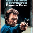 Magnum Force DvD starring Clint Eastwood