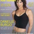 """Self Defense for Women Magazine""""Danielle Burgio"""" cover"""