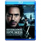 Sherlock Holmes: A Game of Shadows Blu-ray  NEW