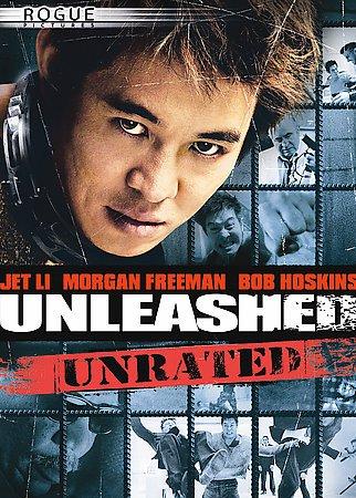 Unleashed DvD starring Jet Li, Morgan Freeman, Bob Hoskins