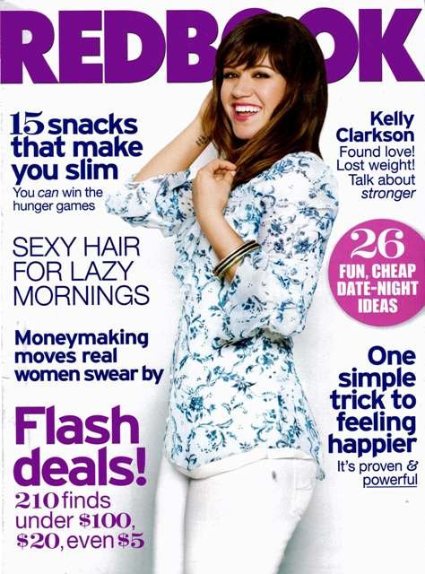 RedBook Magazine 07/2012 Kelly Clarkson cover issue