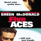 FIVE ACES DVD (FULL SCREEN) Charlie Sheen