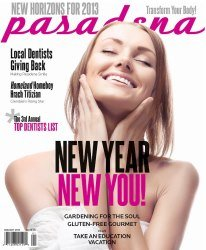 Pasadena Magazine-New Year New You- 01/2013 issue