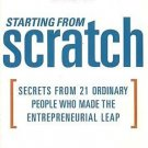 STARTING FROM SCRATCH - Wes Moss (Hardcover)