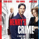 Henry's Crime [Blu-ray] starring Keanu Reeves