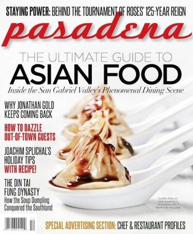 Pasadena Magazine - Asia Food 11/12-2013 issue