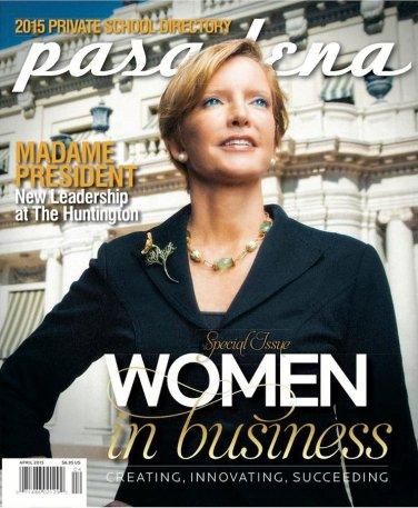 Pasadena Magazine-Women in Business 04/2015 issue
