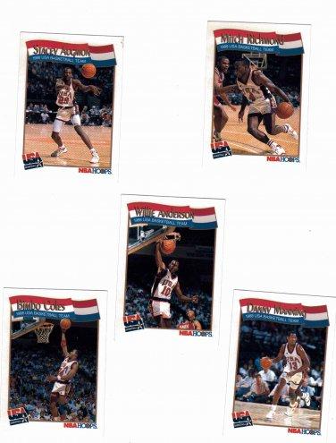 1988 Hoops McDonalds US Olympic Basketball Team