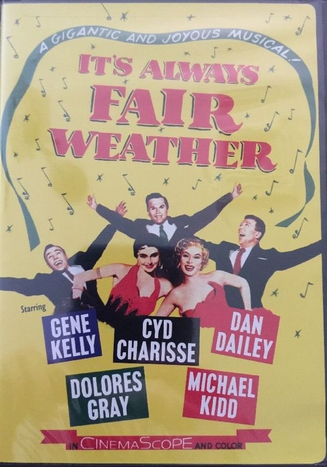 IT'S ALWAYS FAIR WEATHER (DvD) starring GENE KELLY, CYD CHARISSE