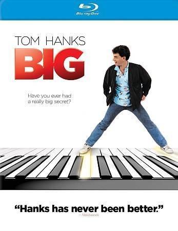 BIG (Blu-ray) starring Tom Hanks, Elizabeth Perkins, Robert Loggia