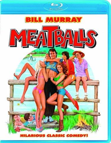 Meatballs (Blu-ray) starring Bill Murray, Harvey Atkin, Kate Lynch