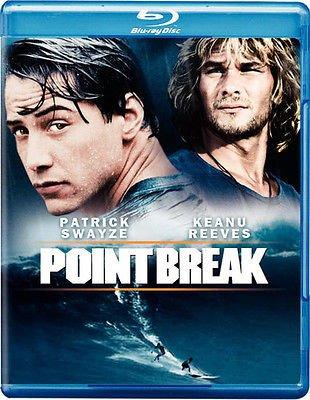 Point Break (Blu-ray) starring Keanu Reeves & Patrick Swayze
