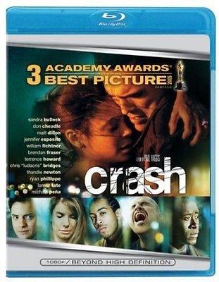 Crash (Blu-ray) Sandra Bullock, Terrence Howard, Ryan Phillippe
