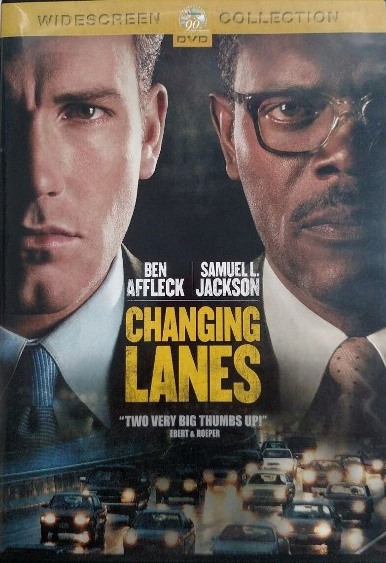 Changing Lanes DvD Widescreen - Ben Affleck & Samuel L. Jackson