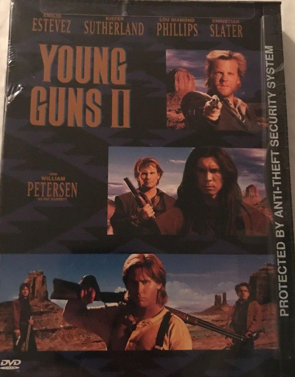 Young Guns II DvD - Kiefer Sutherland, Lou Diamond Philips, Emilio Estevez,