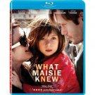 What Maisie Knew (Blu-ray, 2013) - Brand New