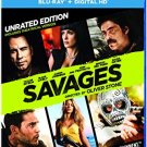 Savages (Blu-ray+DvD+Digital Copy)John Travolta, Benicio Del Toro,Blake Lively