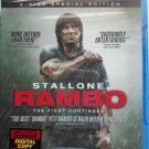 Rambo (Blu-ray, 2-Disc Set, Special Edition)  Sylvester Stallone Brand New