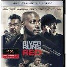 RIVER RUNS RED-4K Ultra HD Blu-ray starring Taye Diggs & Luke Hemsworth